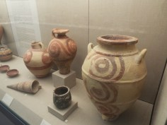 Amphora at Museum of Prehistoric Thera
