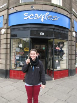 Scayles Music, Edinburgh