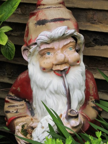Garden gnome in London