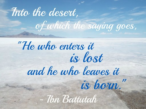 Ibn Battutah quote