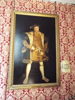 King Henry VIII portrait