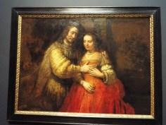 """Isaac and Rebecca"" or ""The Jewish Bride"" by Rembrandt van Rijn"