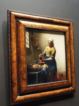 "Vermeer's ""The Milkmaid"""
