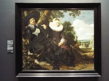 """""""Portrait of a Couple"""" by Frans Hals"""