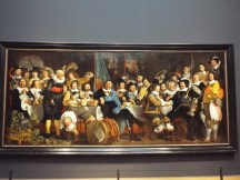 """""""Banquet at the Crossbowmen's Guild in Celebration of the Treaty of Munster"""" by Bartholomeus van der Helst"""
