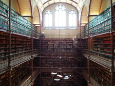 The amazing Rijksmuseum Research Library!