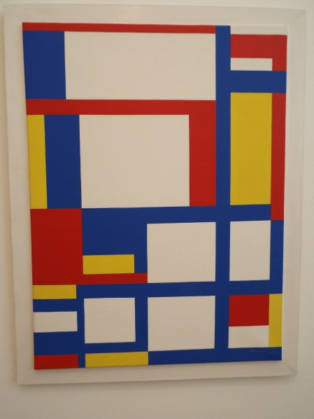 """""""Red, Blue, Yellow and White"""" by Marlow Moss"""