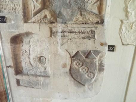 Prisoner graffiti in Beauchamp Tower