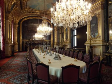 Napoleon's dining hall