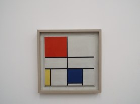 """Composition C (No. III) with Red, Yellow and Blue"" by Piet Mondrian"