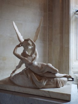 """Psyche Revived by Cupid's Kiss"" by Antonio Canova"