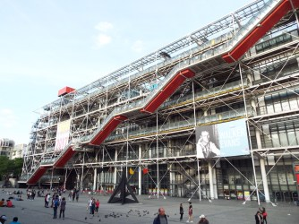 Centre Pompidou - the national modern art museum of Paris