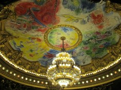 Chagall ceiling at Palais Garnier