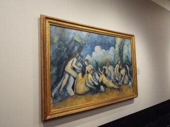 """""""Les Grandes Baigneuses"""" by Paul Cezanne"""