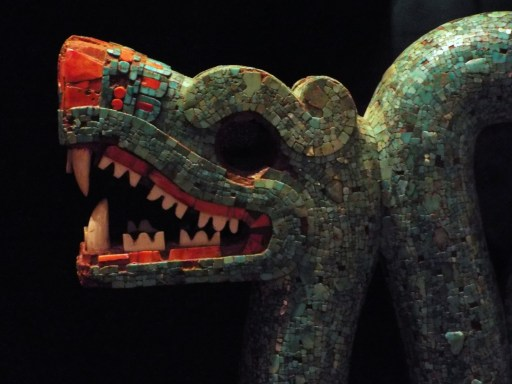 Aztec serpent at the British Museum