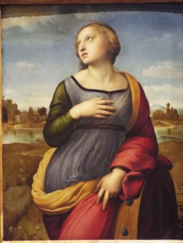 """Saint Catherine of Alexandria"" by Raphael"