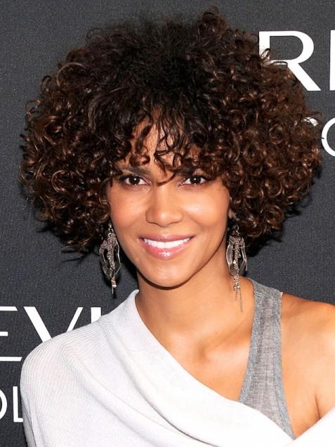 short curly mixed girl hair  novocomtop