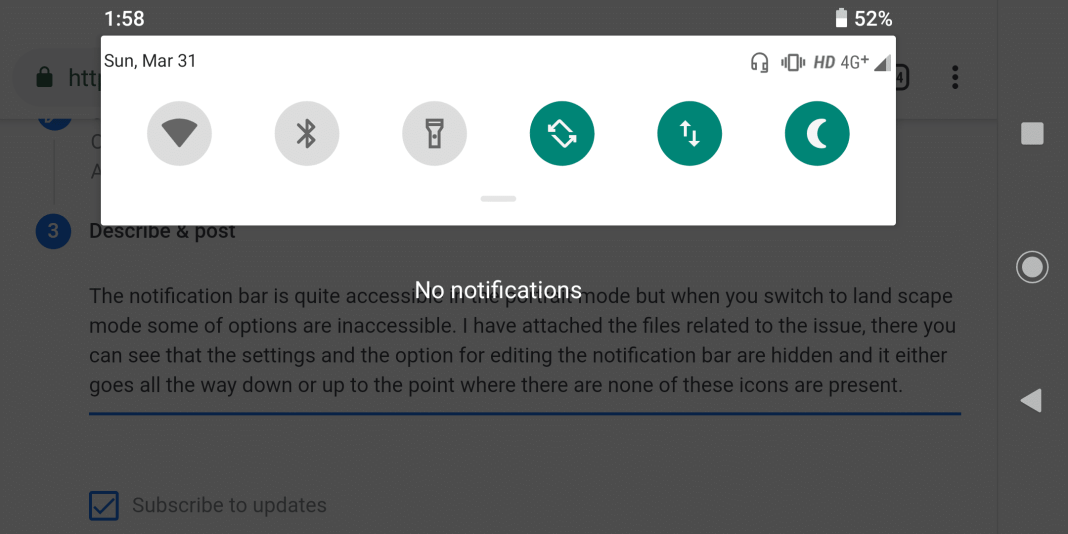 Home Key, Recent Key and Notification Bar Not Working