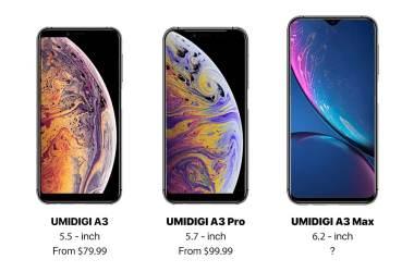 Umidigi iPhone Clone
