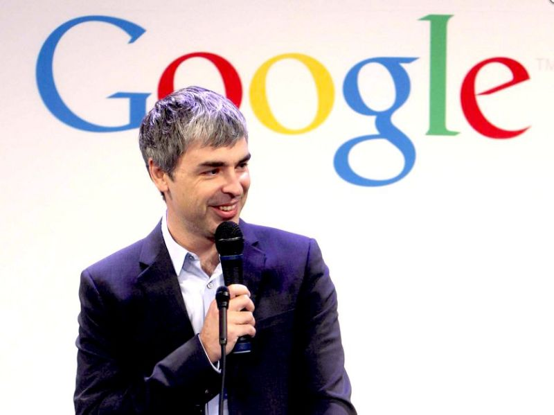 Larry Page Powerful CEO