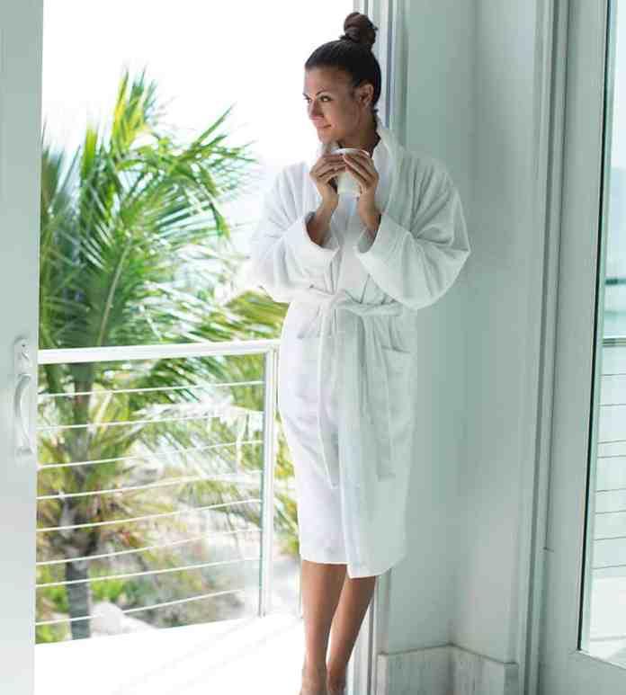 Bamboo blend bathrobes