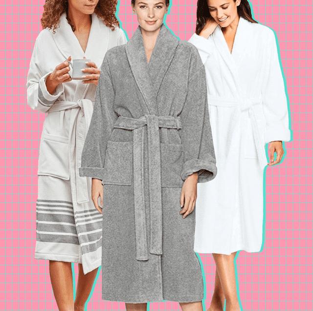 Terry bathrobes