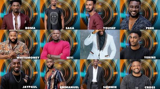 Big Brother Naija Season 6 Male Housemates