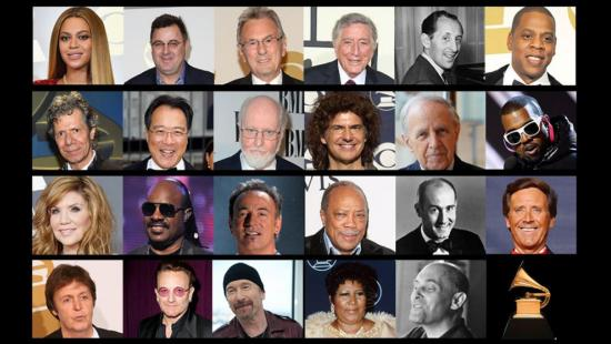 Celebrities with Most GRAMMYS