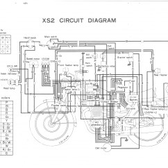 Yamaha Xs650 Wiring Diagram Perch Internal Anatomy Elec  Thexscafe
