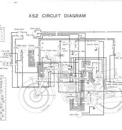 1972 yamaha 650 wiring diagram wiring diagram for you yamaha kodiak 400 atv xs650 72 xs2 [ 3507 x 2479 Pixel ]