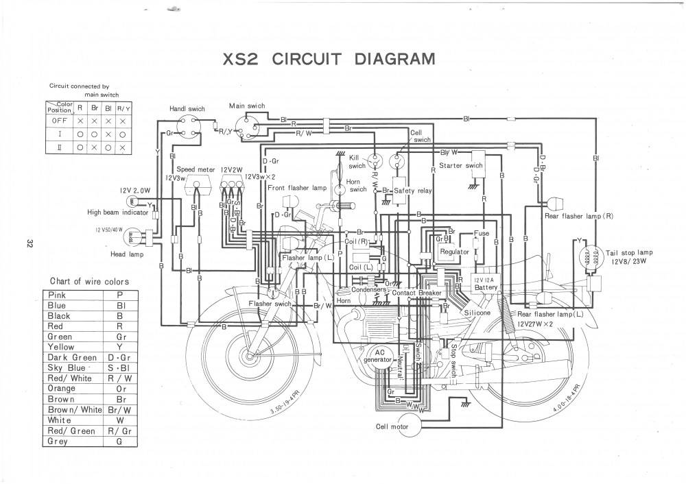 medium resolution of xs650 72 xs2 73 tx650 circuit diagram thexscafe 1981 yamaha xs650 wiring diagram yamaha tx650 wiring diagram