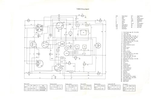 small resolution of 74 tx650a circuit diagram
