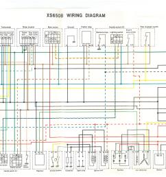 stock xs650 wiring harness diagram wiring diagram used [ 4960 x 3507 Pixel ]