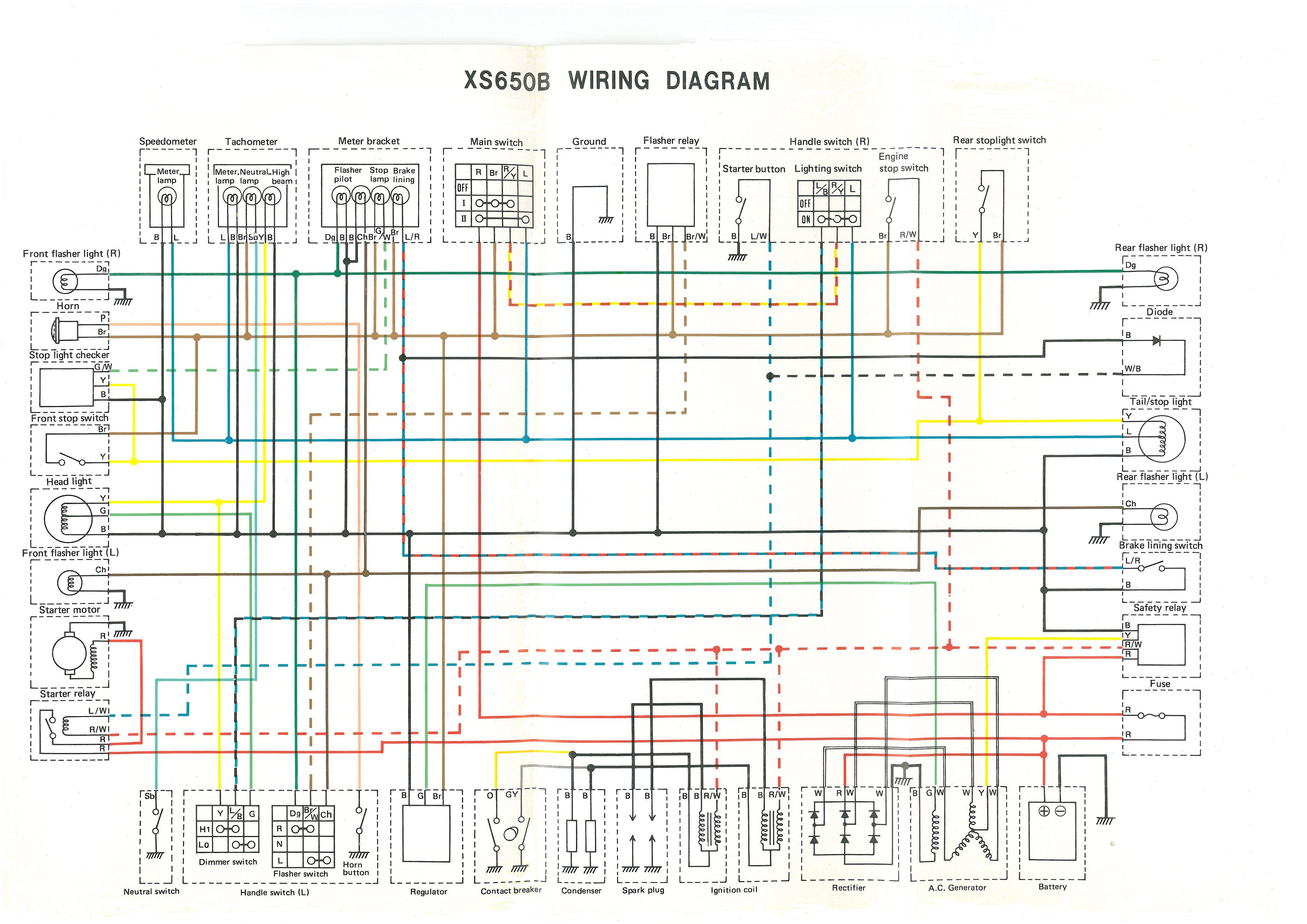 small resolution of 1977 yamaha 400 xs wiring diagram list of schematic circuit diagram u2022 yamaha dt400 specs yamaha dt400 wiring diagram