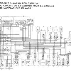 Plug Wiring Diagram Canada Home Sound System 1979 Yamaha Xs750 Special Hobbiesxstyle