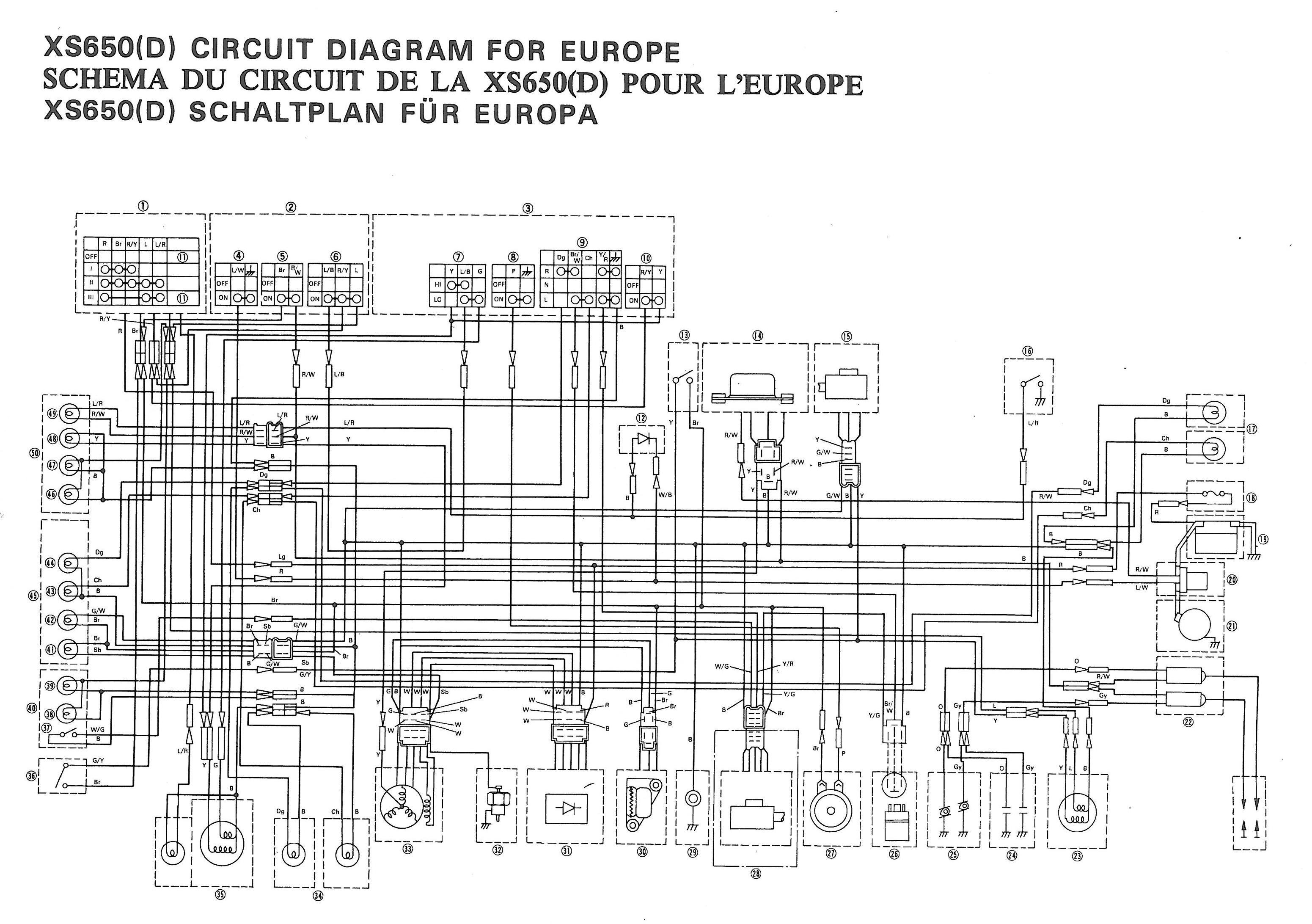 Fz700 Wiring Diagram - Wiring Diagram Liry on