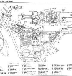 78 yamaha dt 100 wiring schematic [ 2921 x 2269 Pixel ]