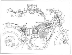 1978 Yamaha Xs650 Wiring Diagram | Wiring Library