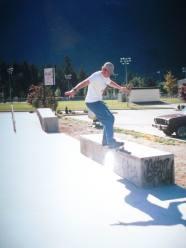 L.A. Fielding skateboarding