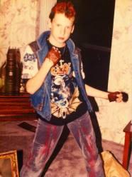 L.A. Fielding as a child