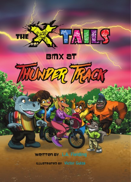 The X-tails BMX at Thunder Track