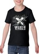 X-tails Toddler T-shirt Black