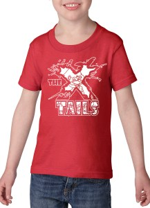 X-tails Toddler T-shirt Red