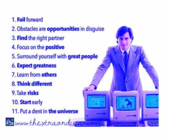 thextraordinarionly strategy quotes by Steve Jobs