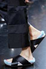 Celine fur sandals Birkenstock Summer 2013 Trend- The Xtyle 1 blue