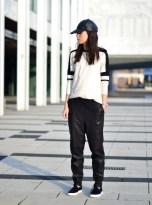 TREND_INSPIRATION_LEATHER_BAGGY_SWEATPANTS_THEXTYLE_ SS-2014_STREETSTYLE_CAP