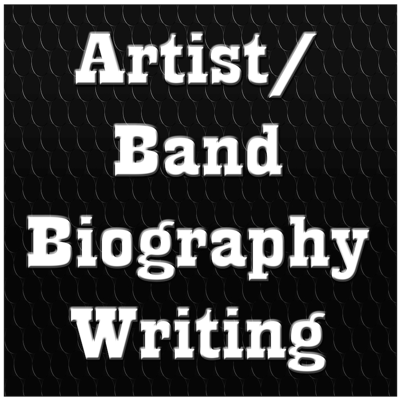 Artist Biography Writing at The Xube