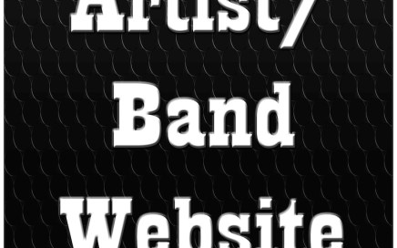 Artist/Band Website at The Xube