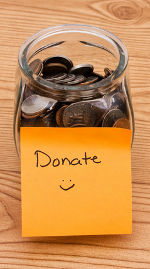 Donation Jar © Karen Roach   Dreamstime.com