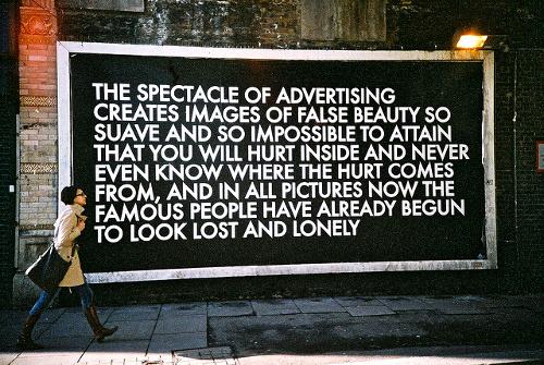 The Spectacle of Advertising © Lenbuster Syftningsfel Flickr.com